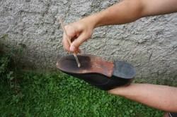 Sohlenöl für Leder