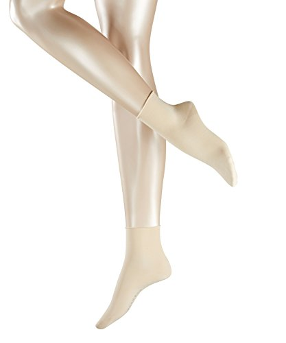 FALKE Cotton Touch Damen Socken cream (4019) 39-42 mit femininen Rollrand