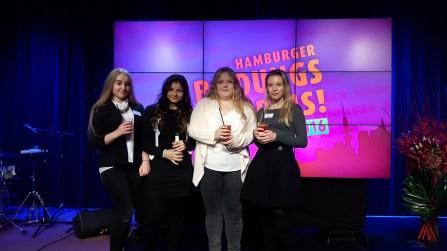 Unsere Mädels auf der Bühne