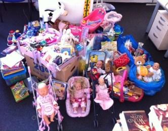 So viele Spenden kamen aus der Klasse 3b zusammen.