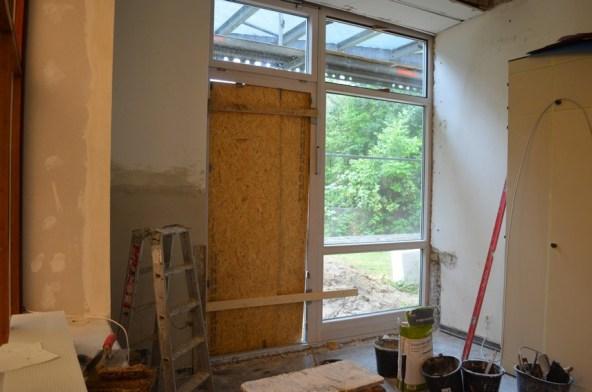 Die neuen Fensterelemente lassen nun noch mehr Licht in die Gruppenräume.
