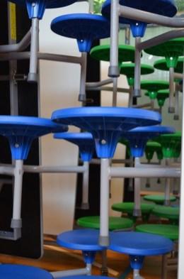 Neue Sitzvarianten werden in den Mensa verwendet.