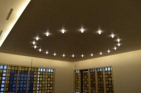 Das neue Lichtkonzept im Andachtsraum