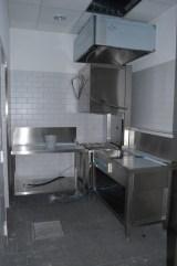 Blick in die neue Küche