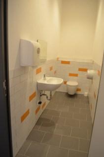 Die neuen Toiletten