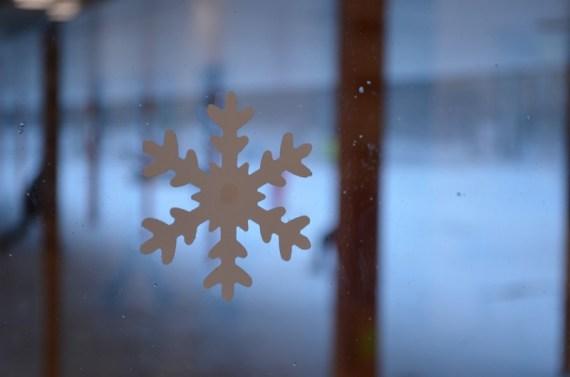 Es schneit!