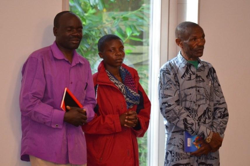 Auch der Besuch aus unserer Partnergemeinde in Ludilu feierte den Gottesdienst mit.