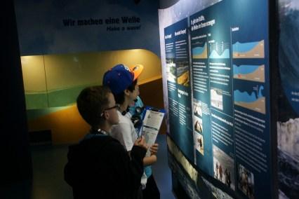Drei großen Themenbereichen gingen die Kinder auf den Grund: Klima, Wetter, Klimaforschung; Leben mit Naturgewalten; Kräfte der Nordsee