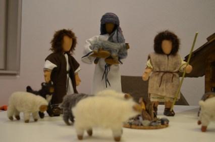 Auf nach Bethlehem - die Hirten auf dem Felde