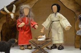 Auf nach Bethlehem - die heilige Familie