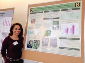 Briana at the Spring Undergraduate Forum 2015 - April 21, 2015