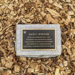 Friday, April 14, at the tree dedication and retirement ceremony celebrating Bond LSC's Director Jack Schultz.