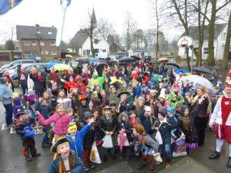 Schulkarneval Postdammschule 2016