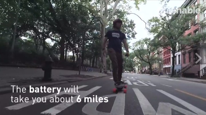 Elektronisches Skateboard