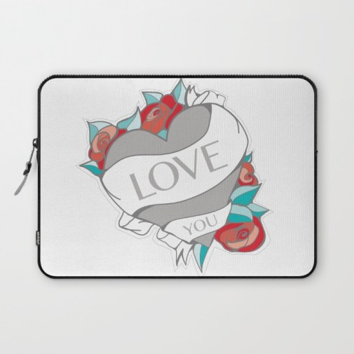 Tattoo Heart Laptop Preview