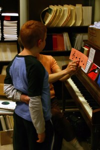 Beginning Piano Lesson