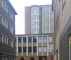 Seitenansicht Rathaus Düren