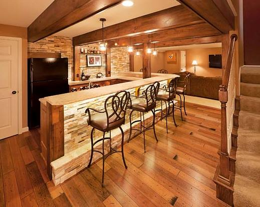 Remodeling Success With Distressed Wood Beams