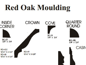 Cove moulding from Schutte Lumber