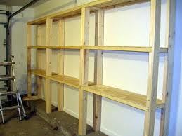 How to Build a Wooden Garage Storage Wall