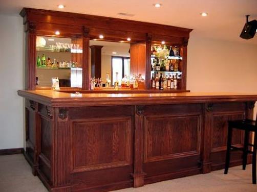 Building Your Home Bar | Schutte Lumber