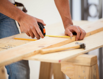 Building your own shelves is easier and cheaper than you may think. ©iStockphoto.com/Antonio_Diaz
