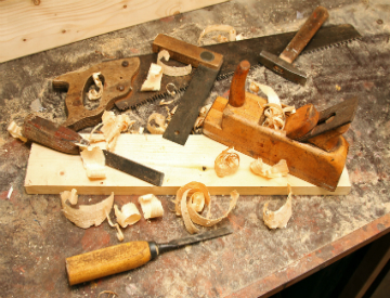 Learning how to make rabbet joints will prove to be a very usefull thing in your future woodworking endeavors. ©iStockphoto.com/ronstik