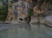 Pokojná časť kaňona