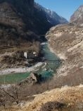 Ústie doliny Valbona