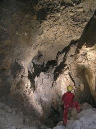 Zadná sieň v jaskyni Shpanik
