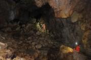 Obaja jaskyniari v hlavnej sieni by boli v roku 2006 už pod vodou
