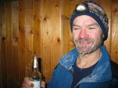 Po príchode na chatku bolo -22°C - Foto: Ján Šmoll