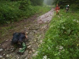Hučiačanka sa blíži k Ludrovskej doline