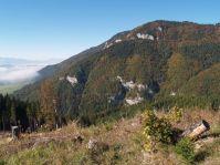 Vrch Hrádkovo nad Kvačianskou dolinou