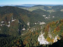 Kvačianska dolina sa na konci roztrojuje