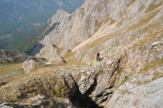 Vchod priepasti Milenkov kameň 2