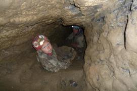 Aj Maťko vynášal skaly z Prievanu zdola