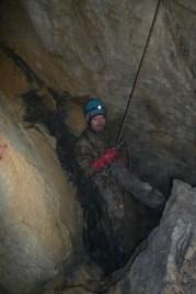 Vstupné časti v jaskyni
