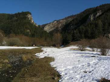 Vstup do Prosieckej doliny (20.3.2005)