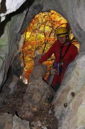 Vchod Karfiolovej jaskyne