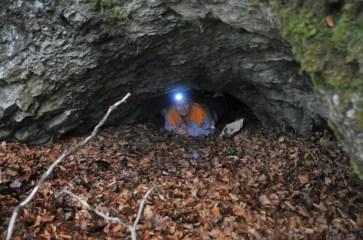 Jaskyňa archeológov-vchod