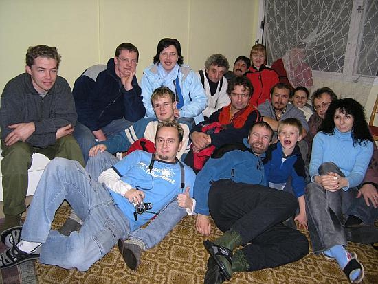 Účastníci na členskej schôdzi v r.2005