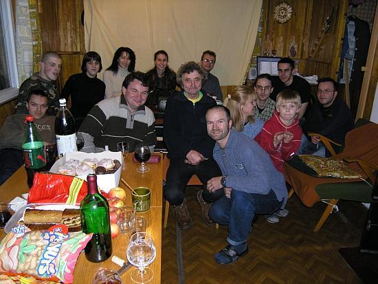 Účastníci na členskej schôdzi v r.2006