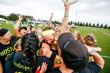 first championship team hug
