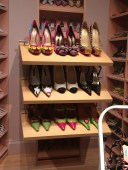 Famous and fancy shoooooes at the shoe museium