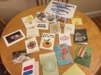 Plethora of cards sent from family & friends