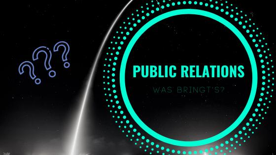 Public Relations - was bringt's?