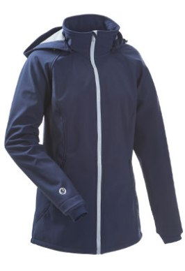 Tragejacke Softshell navy/ice