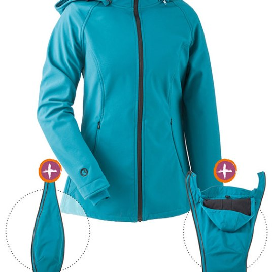 Tragejacke Softshell 3-in-1