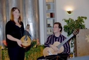Annika Lückebergfeld und Fabian Hinsche